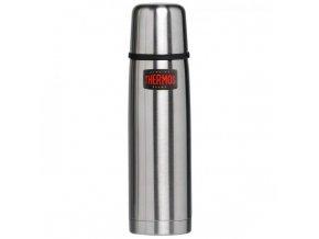 Thermos - Termoska 500 ml s tlačítkovým uzávěrem nerez