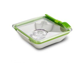 BLACK-BLUM Lunch Box Apetit, bílo zelený