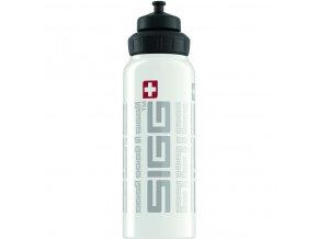 Lahev SIGG WMB Siggnature White 1000 ml