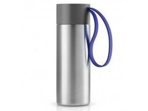 Eva Solo - termohrnek s modrým poutkem 350 ml
