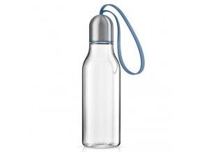 Eva Solo - sportovní láhev na pití 700 ml modré poutko