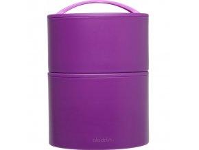 Aladdin - termobox na oběd BENTO 950 ml fialový new