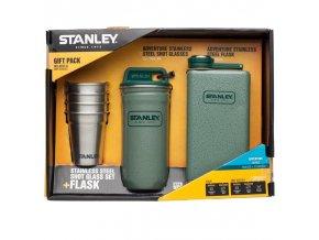 Stanley - dárkový set butylka a panáky v pouzdře