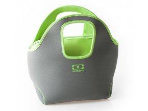 Monbento neoprénová taška MB Pop up grey/green