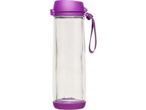 Aladdin - láhev s dvojitou stěnou sklo-plast 0,53l fialová
