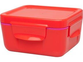 Aladdin - termobox na jídlo 470 ml červený