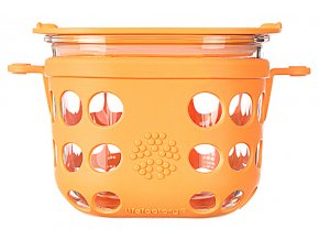 Lifefactory dóza 475ml orange