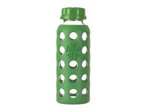 Lifefactory skleněná láhev 250ml grass green