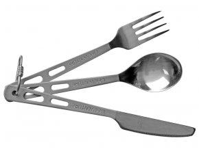 Lifeventure - titanový příbor Camping Cutlery Set
