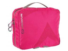 Lifeventure - taška na hygienické potřeby Wash Bag Pink Large