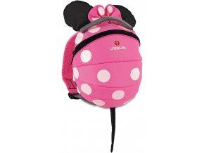 LittleLife Disney batůžek Toddler Daysack Pink Minnie