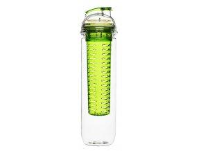 SAGAFORM láhev s infuzérem Fresh 800 ml zelená