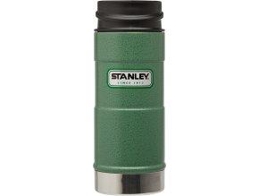 Stanley - termohrnek do 1 ruky Hammertone 0,35l zelený