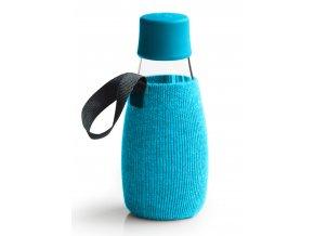 Retap obal na láhev 0,3l azurový úplet