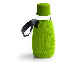 Retap obal na láhev 0,3l zelený úplet