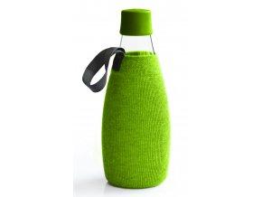 Retap obal na láhev 0,8l zelený úplet
