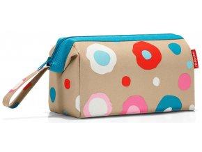 Reisenthel kosmetická taška Travelcosmetic funky dots 1