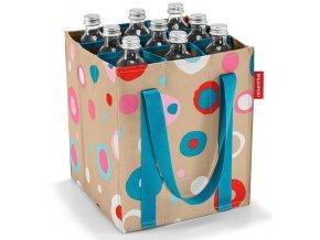 Reisenthel taška na lahve Bottlebag Funky dots 1
