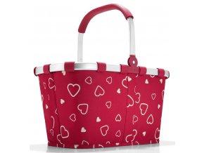 Reisenthel - nákupní košík Carrybag hearts