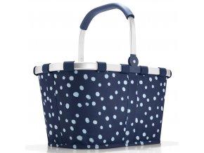 Reisenthel - nákupní košík Carrybag spots navy