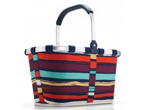 Reisenthel - nákupní košík Carrybag artist stripes