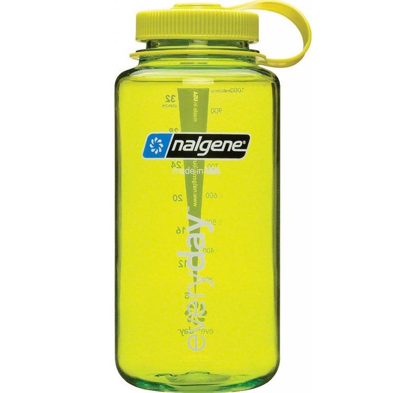 NALGENE - láhev na pití Wide Mouth 1000 ml Spring Green