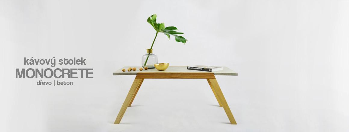 Konferenční stolek betonový