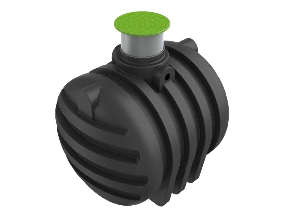 Retenční podzemní nádrž na dešťovou vodu Elkoplast NEPTUN (objem 4300 litrů)