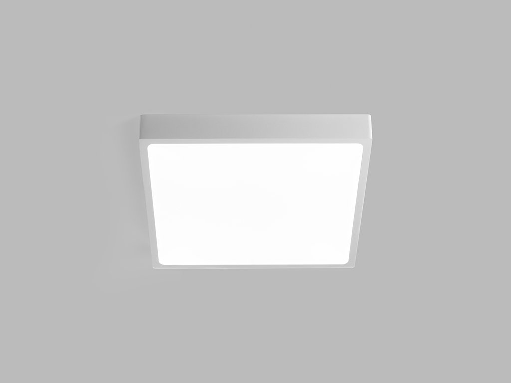 47911 ctvercove stropni svitidlo led2 1183431 slim q on l 20w 3000k
