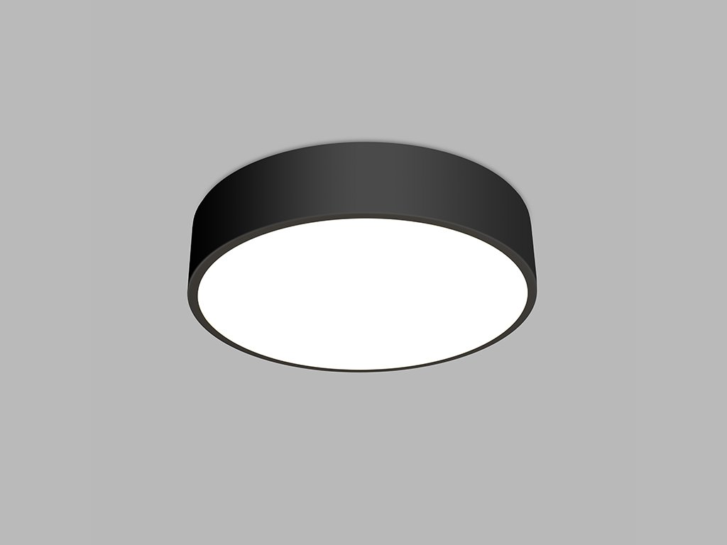 Kruhové stropní svítidlo LED2 MONO 60, B 60W (Varianty 2CCT 3000K/4000K - DALI/PUSH - stmívatelné)