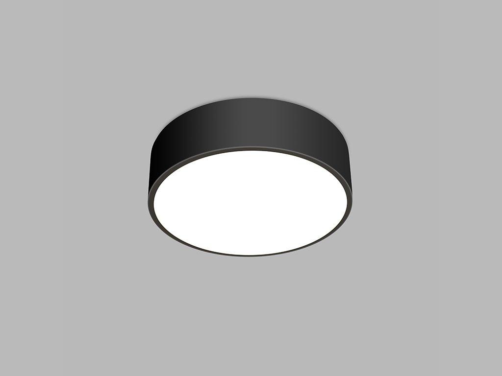 Kruhové stropní svítidlo LED2 MONO 40, B 30W (Varianty 2CCT 3000K/4000K - DALI/PUSH - stmívatelné)