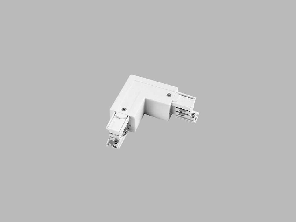 48277 led2 pro track pro 0435l w l connector left white
