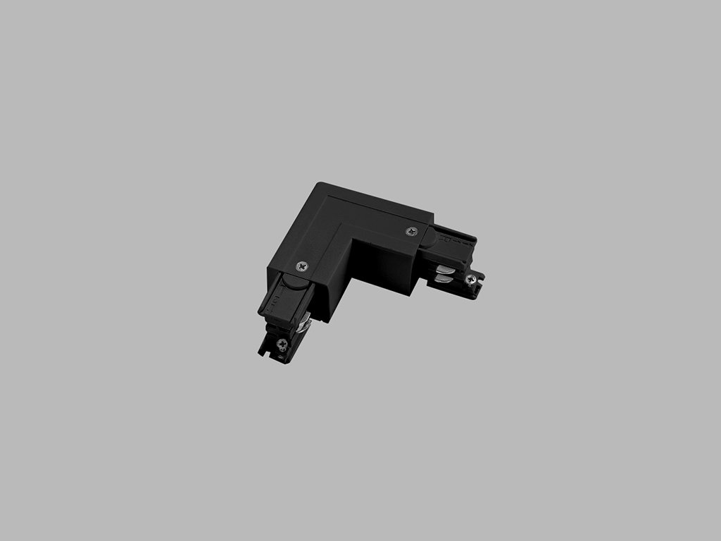 48280 led2 pro track pro 0435l b l connector left black