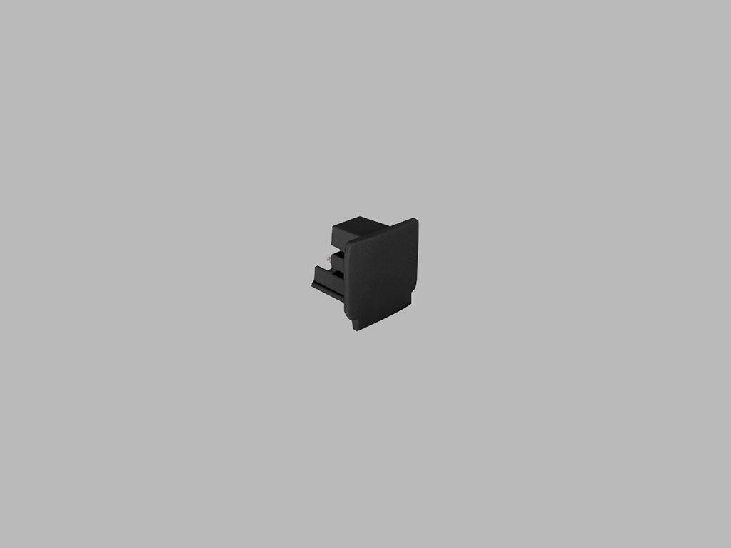 48289 led2 pro track pro 0432 b end cap black
