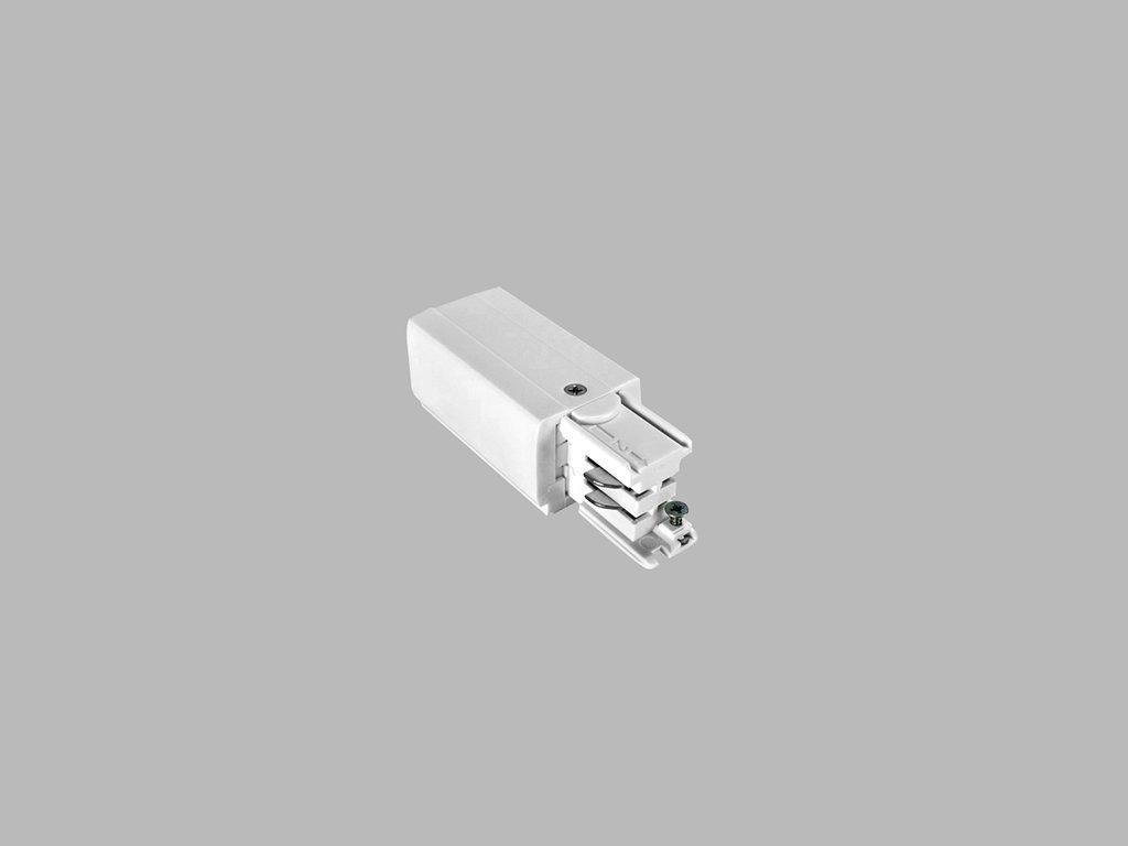 48298 led2 pro track pro 0431l w connector left white