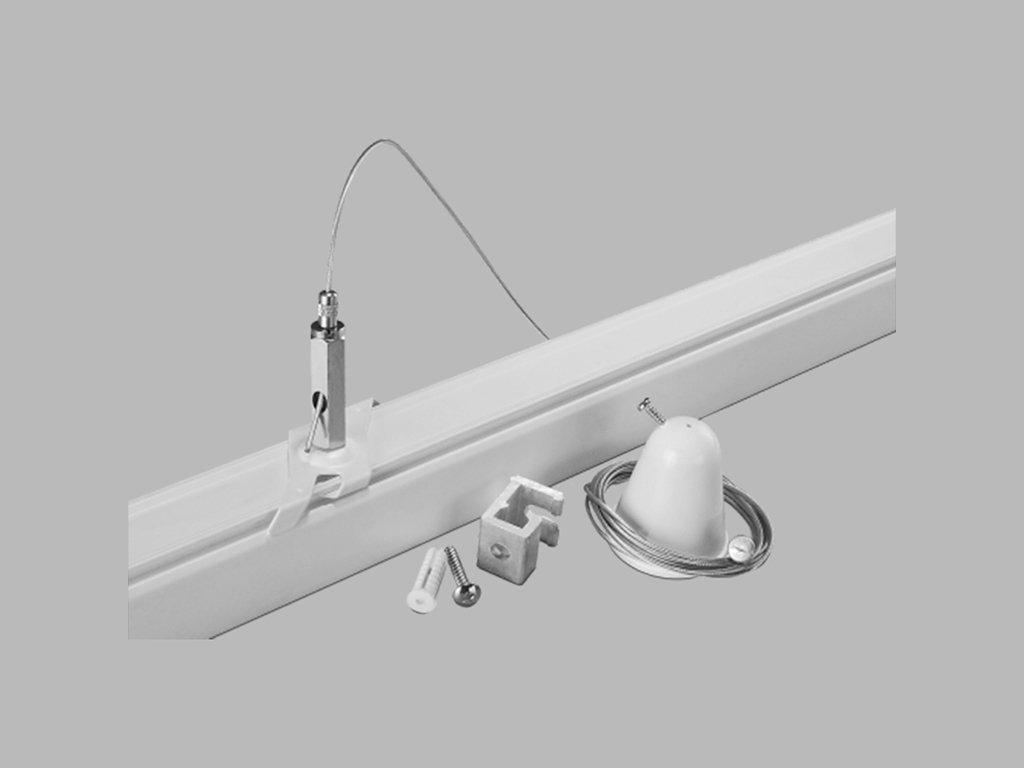 48319 led2 pro track pro ez0448 w wire suspension ezclick white 3m
