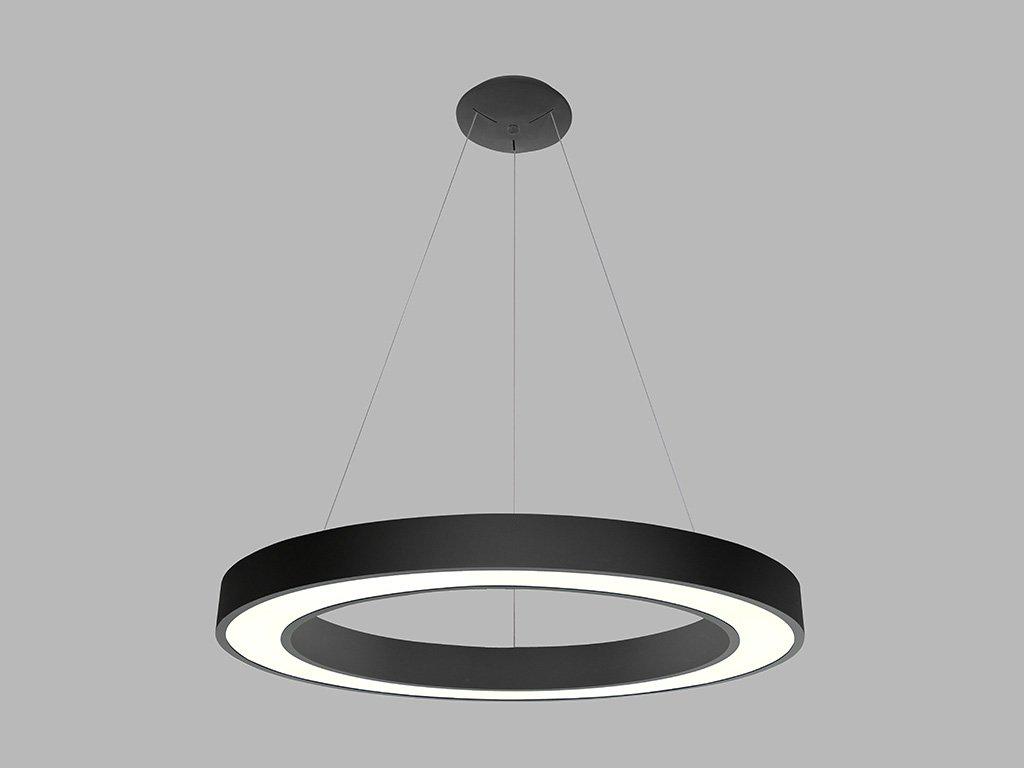 Lustr prstencový LED2 SATURN 80 P-Z, B 80W (Varianty 2CCT 3000K/4000K - DALI/PUSH - stmívatelné)
