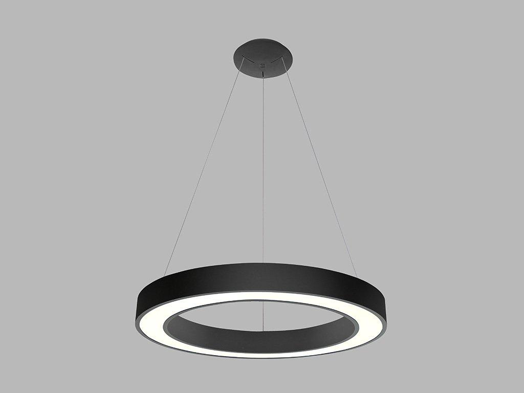 Lustr prstencový LED2 SATURN 60 P-Z, B 50W (Varianty 2CCT 3000K/4000K - DALI/PUSH - stmívatelné)