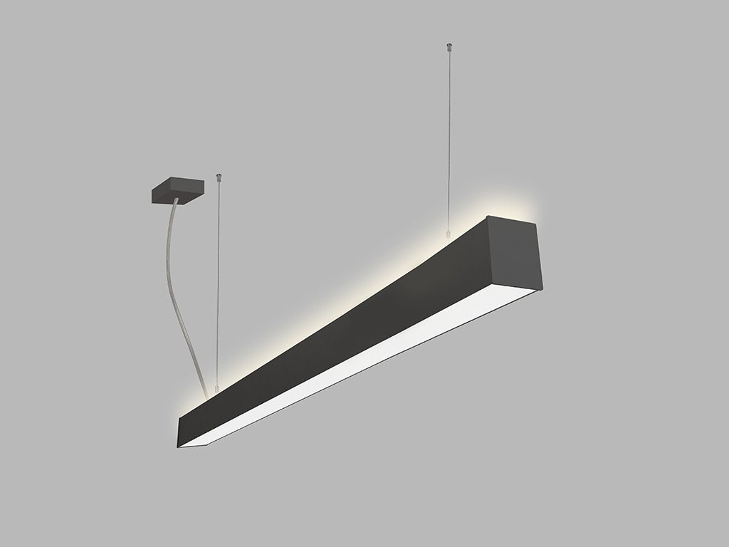 Závěsná zářivka LED2 LINO 120 P/N-Z, B (Varianty DALI/PUSH - stmívatelné)