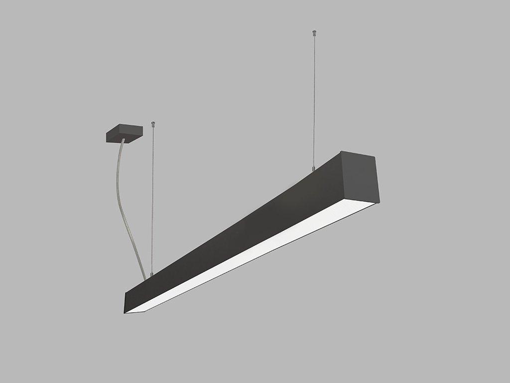 Závěsná zářivka LED2 LINO 120 P-Z, B (Varianty DALI/PUSH - stmívatelné)