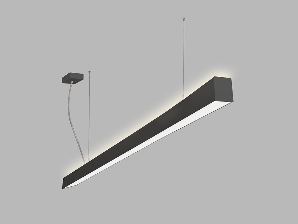 Závěsná zářivka LED2 LINO 150 P/N-Z, B (Varianty DALI/PUSH - stmívatelné)