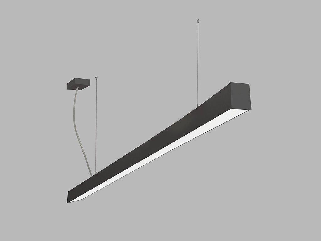 Závěsná zářivka LED2 LINO 150 P-Z, B (Varianty DALI/PUSH - stmívatelné)