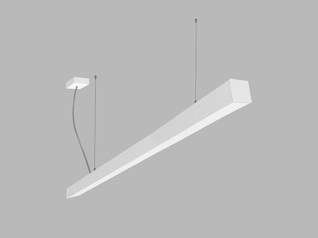 Závěsná zářivka LED2 LINO 150 P-Z, W (Varianty DALI/PUSH - stmívatelné)