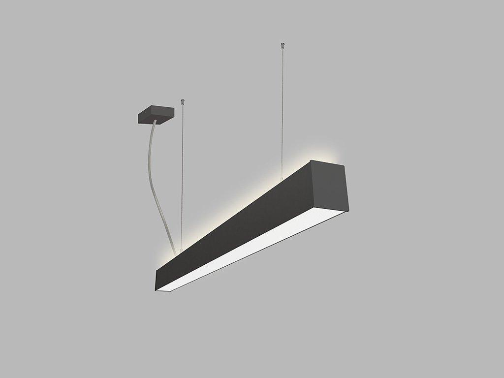 Závěsná zářivka LED2 LINO 90 P/N-Z, B (Varianty DALI/PUSH - stmívatelné)