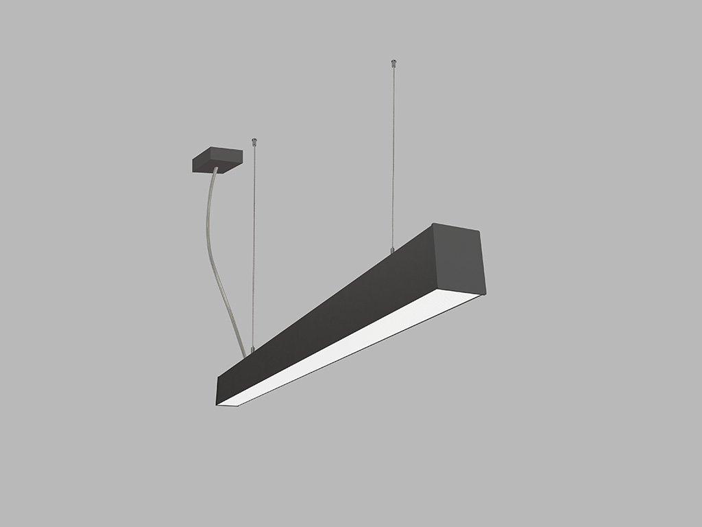 Závěsná zářivka LED2 LINO 90 P-Z, B (Varianty DALI/PUSH - stmívatelné)