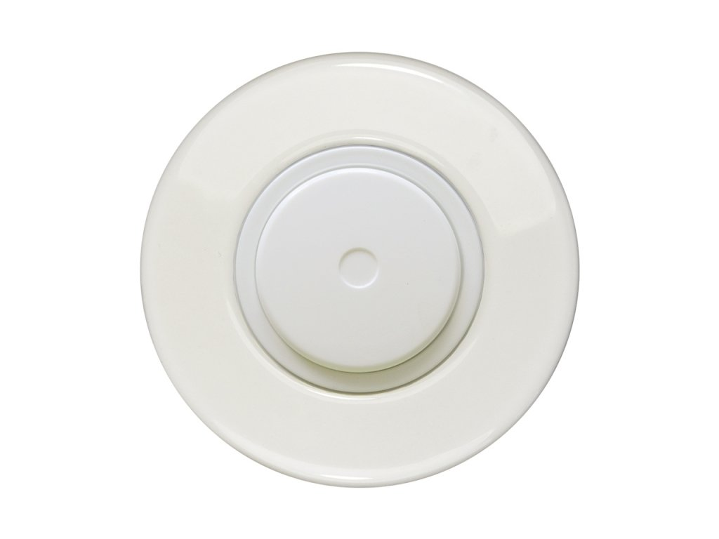 Retro LED stmívač otočný, push-pull KERAMIKA (Varianta Rám: keramika - černá, Kryt: černý, Ovladač: stmívač - černý mat)