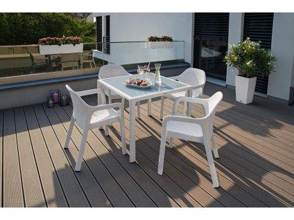 Stůl malý (Barva Mokka, Deska HPL)
