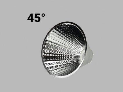48385 led2 6090780 shop light 45 reflector 45