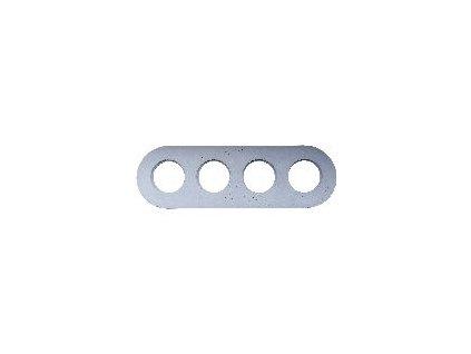 Rámeček čtyřnásobný (Varianta Rám: beton)