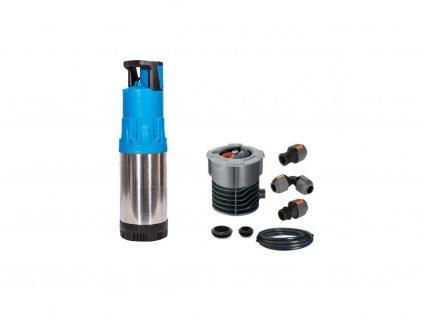 sestava Garden home cerpadlo filtr hadice spojky a propojka pro podzemni nadrze